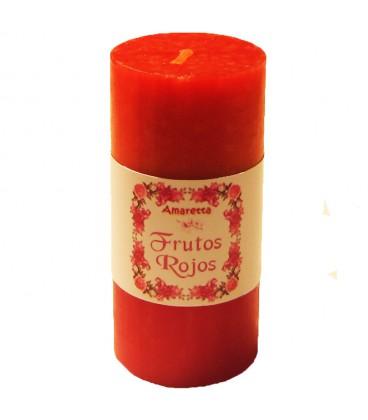 Vela estilizada Frutos Rojos